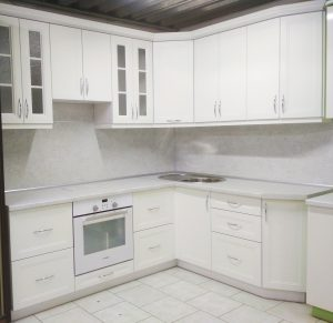 Угловые кухни № 327 на заказ фото и цены