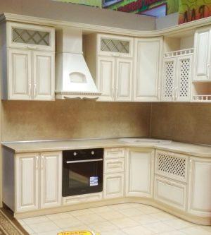 Фото угловой кухни № 328 и цены