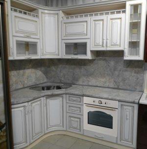 Угловые кухни № 71 на заказ фото и цены
