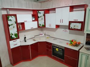 Фото угловой кухни № 73 и цены