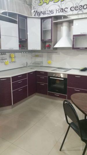 Фото угловой кухни № 326 и цены