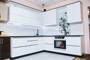 Угловые кухни № 325 на заказ фото и цены