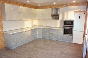 Фото угловой кухню по выгодной цене