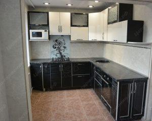Фото угловой кухню № 6 на заказ по выгодной цене