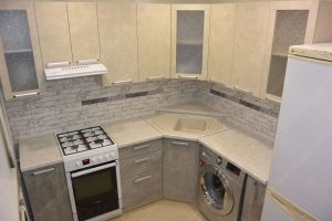 Фото угловой кухню № 9 на заказ по выгодной цене