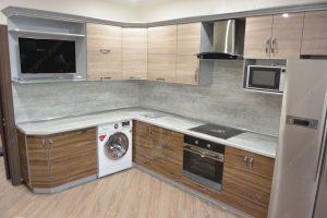 Фото угловой кухню № 13 на заказ по выгодной цене