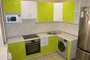 Фото угловой кухню № 15 на заказ по приятной цене