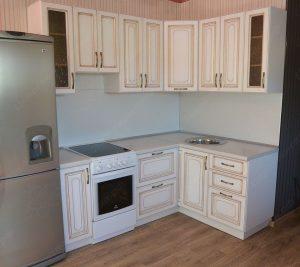 Фото угловой кухню № 16 на заказ по приятной цене