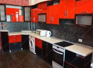 Фото угловой кухню № 18 на заказ по приятной цене
