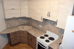 Фото угловой кухню № 19 на заказ по приятной цене