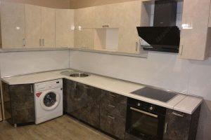 Фото угловой кухню № 22 на заказ по приятной цене