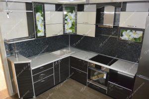 Фото угловой кухню № 118 на заказ каталог цены