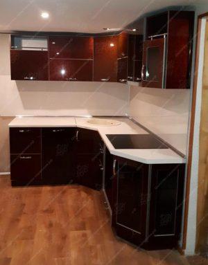 Фото угловых кухонь на заказ каталог цены. Модель № 333