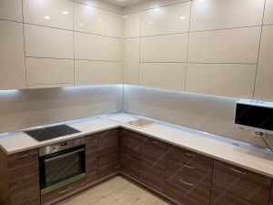 Фото угловых кухонь на заказ каталог цены. Модель № 336