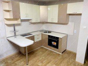 угловая кухня с барной стойкой фото и цены