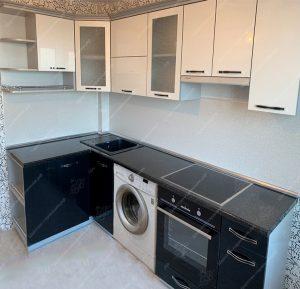 Фото угловых кухонь на заказ каталог цены. Модель № 344
