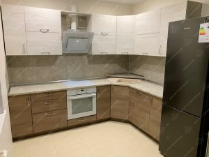Фото угловых кухонь на заказ каталог цены. Модель № 342