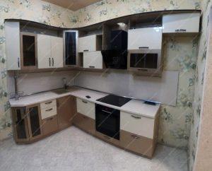Фото угловых кухонь на заказ каталог цены. Модель № 338