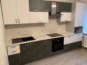 Фото линейной кухни