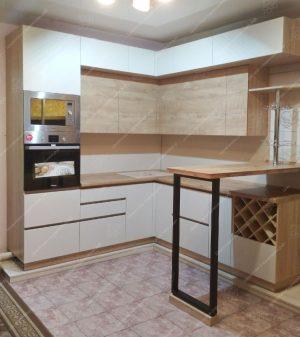 Фото кухню с барной стойкой № 53 и цены