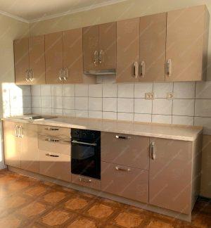 Фото прямой кухню № 8899 на заказ каталог цены