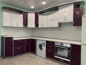 угловая кухня № 366 фото и цены