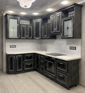 угловая кухня № 365-2 на заказ цены