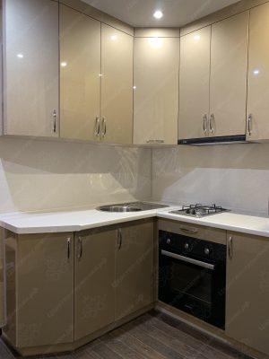 угловая кухня №367 на заказ фото и цены