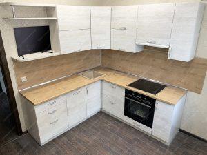 Фото угловой кухню № 8952 по выгодной цене