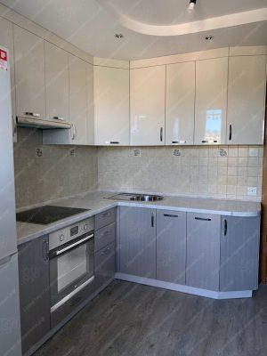 угловая кухня №363 на заказ фото и цены