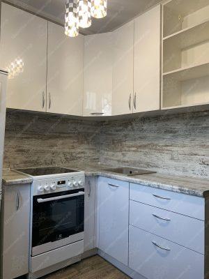 угловая кухня № 8935 фото и цены