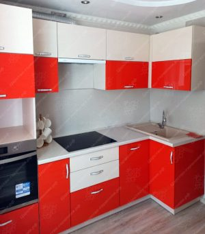 угловая кухня № 364 на заказ цены