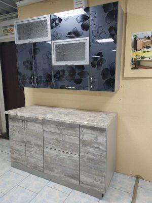 Прямая кухня № 76 на заказ фото и цены